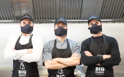 Prêts pour l'ouverture du premier Big Family Kitchens et de la première «Bright Kitchen» marseillaise