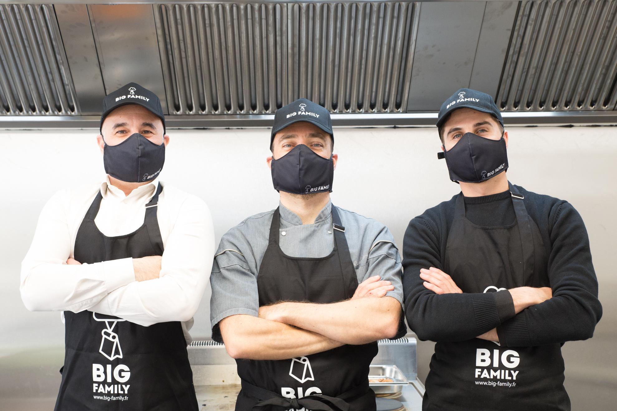 Big Family Kitchens Marseille Livraison plats et emporté