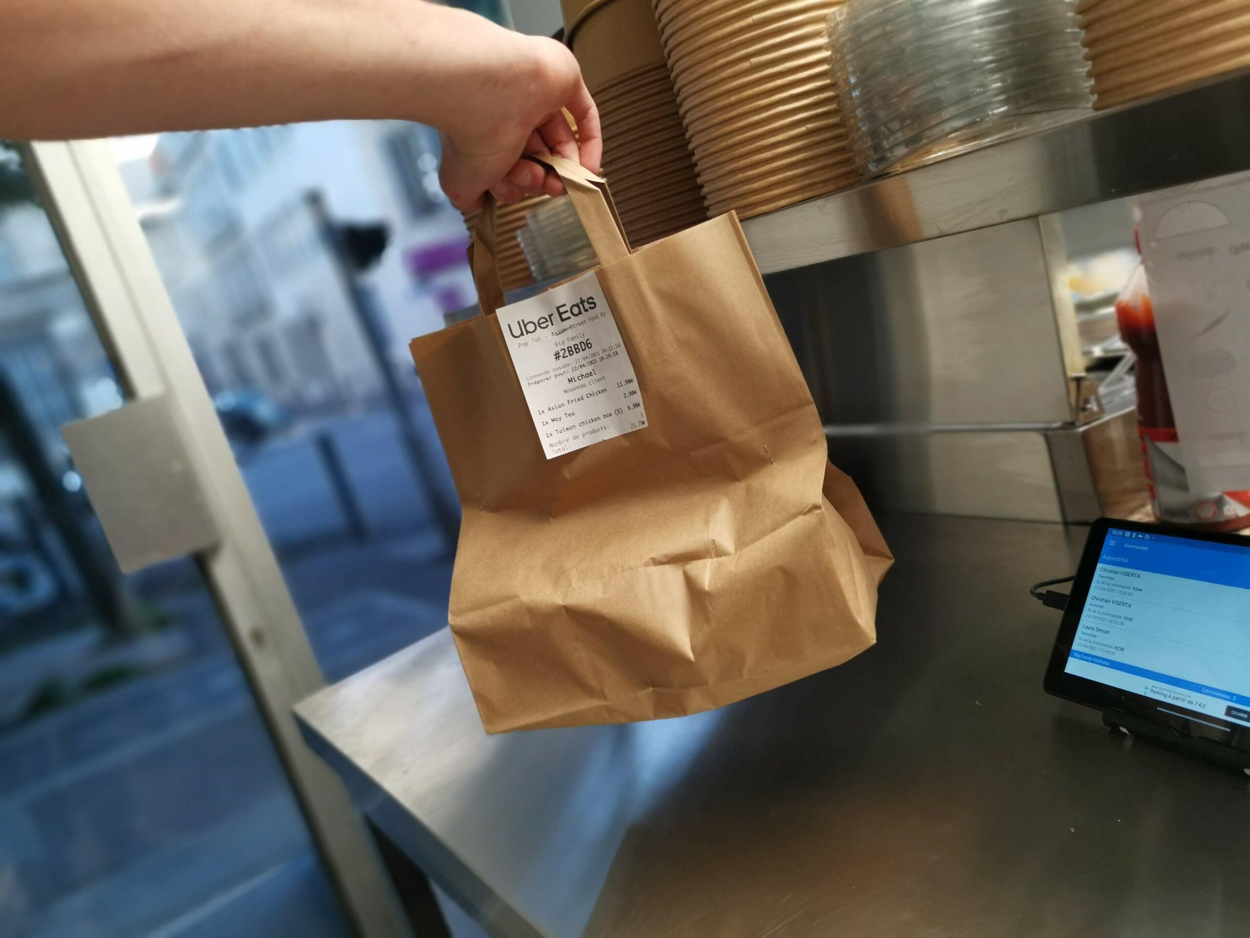 Premiere commande PopTaï Bao Burger Asian StreetFood à Marseille