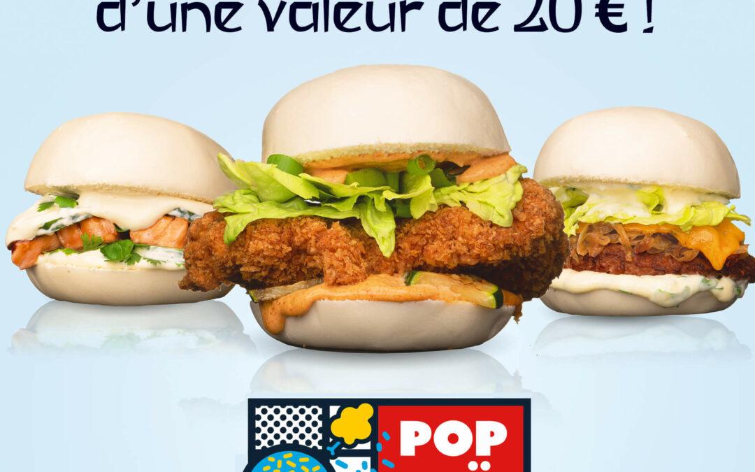 #JEUCONCOURS POPTAI gagne ta commande d'une valeur de 20€* !