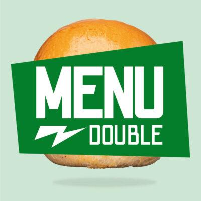 Menu double